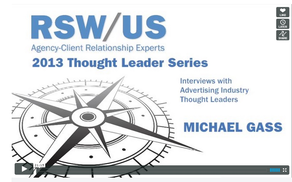 Michael Gass Agency New Business Interview
