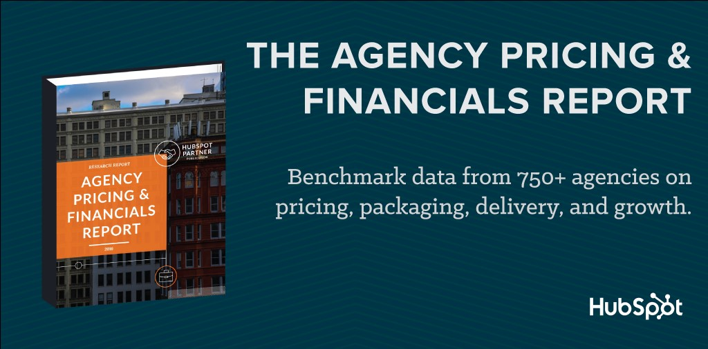 The Agency Pricing & Financials Report