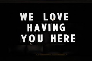 We love having your here