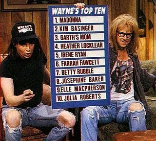 top ten waynes world