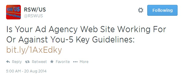 Have Agencies Given Up On Their Sites?