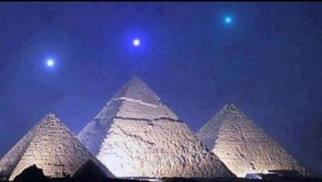 Planets and pyramids