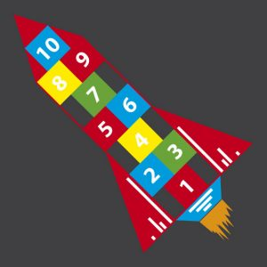 Hopscotch rocket
