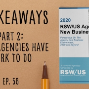 2020 Agency New Business Report - Part 2 Small Agencies Have Work To Do